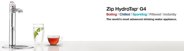 Zip HydroTap G4 Residential Category Banner