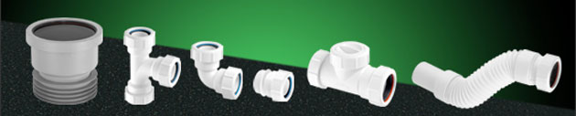 McAlpine Waste Pipe And Fittings Category Banner