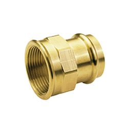 B Press Water Straight Female Connector
