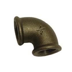 Black Malleable Iron 90° Elbows