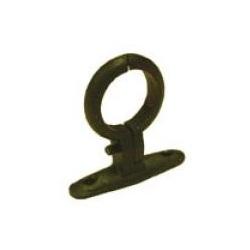 Black Malleable Screw-on Pipe Brackets