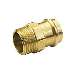 B Press Water Straight Male Connector