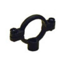 Black Malleable Iron Single Pipe Rings