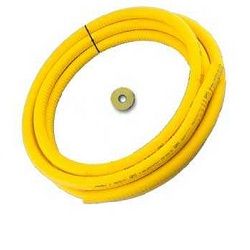 Flexible Gas Pipe Cut Lengths With Tape