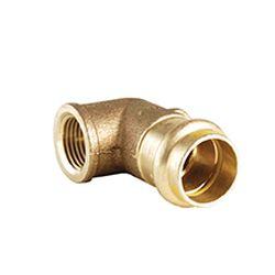 B Press Gas 90° Bend With Female Thread