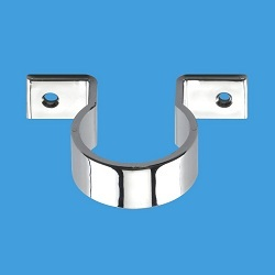 McAlpine Chrome Plated Pipe Clips