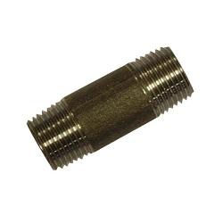 Black Malleable Taper Barrel Nipples