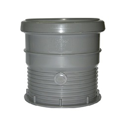FloPlast 110mm Drain Connectors Grey