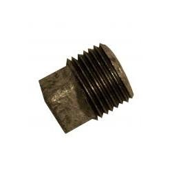 Black Malleable Iron Plain Plugs