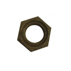 Black Malleable Iron Backnuts