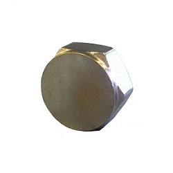 Chrome Compression Blank Nut