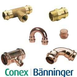 Conex B Press Fittings
