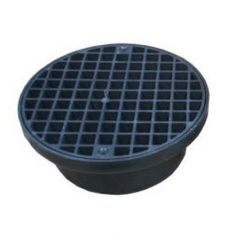 FloPlast D514 Underground Drainage Circular Hopper And Grid