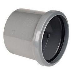 Floplast SP124G 110mm Ring Seal Single Socket Coupler
