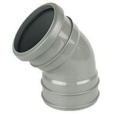 FloPlast SP440G 110mm Ring Seal 135° Top Offset Bend Grey