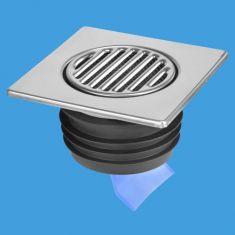 McAlpine FGT150-SV-110 Stainless Steel Tile Internal Non Return Valve 150mm Square