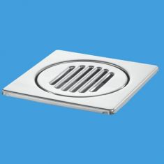 McAlpine FGT150TOP 150mm Square Stainless Steel Tile Grating