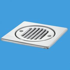 McAlpine FGTOP6SS 150mm Square Stainless Steel Tile Grating
