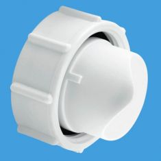 McAlpine SM10PLUG Blank Plug, Nut And Washer