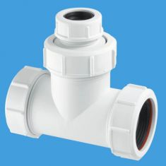 "McAlpine V1MX-CO 1½"" Universal Slip Tee For Boiler Condenstate Discharge"