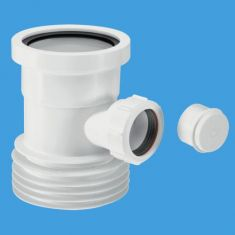 McAlpine WC-BP1 Boss Pipe For Use With Pan Connectors