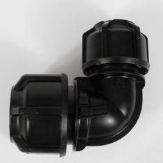 """Philmac 9532 Metric/Imperial 90° Reducing Elbow 25mm (¾"""") x 20mm (½"""")"""