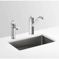 Zip HydroTap G4 HT1776UK BCSH240/175G4 5 In 1 Boiling, Chilled & Sparkling Chrome With Standard Hot & Cold Mixer Tap